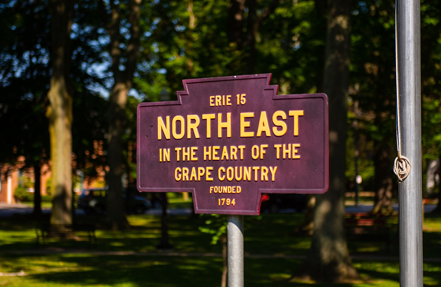 North East Township sign