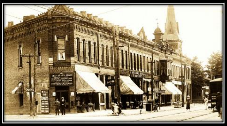 old picture of downtown north east