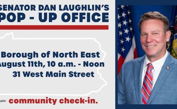 Senator Laughlin's Pop-Up Office Visit